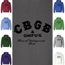 CBGB Hoodie Sweatshirt Underground Punk Rock Concert Classic Logo Hooded Sweater