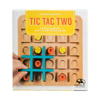 Tic Tac Two: Wooden Fun Family/Kids Strategy Game