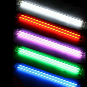 "2 Piece Car Undercar Underbody Neon Kit Lights CCFL Cold Cathode Tube 6"" 12"""