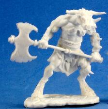 1 x BLOODHOOF - BONES REAPER figurine miniature jdr rpg d&d minotaur hero 77251