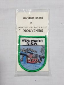 Wentworth NSW, Collectable Souvenir Sew on Patch / Badge (NOS)