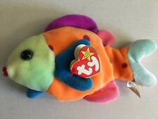TY Beanie Baby - Lips (Retired, Full Size) - Error !! with Free Mini Lips!