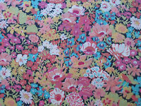 "LIBERTY OF LONDON TANA LAWN FABRIC DESIGN ""Thorpe W "" 2.35 METRES (235 CM)"