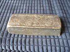 BRASS  Ingot Bar 2kg approx