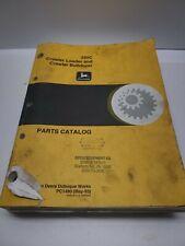 John Deere Pc 1480 Parts Catalog For Jd350 C Crawler Loaders And Bulldozers
