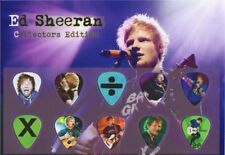 ED SHEERAN  - A5 SIZE LIMITED EDITION - GUITAR PICK DISPLAY