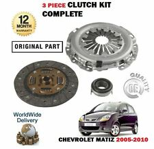 FOR CHEVROLET MATIZ 0.8 A08S3 2005-2010 CLUTCH PLATE + COVER + BEARING KIT