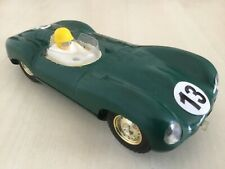 Scalextric tipo D Jaguar Vintage C60 utiliza Verde