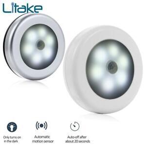 Sensor Night Light Battery Powered PIR Infrared Motion Sensor Lamp