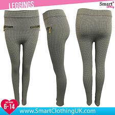 Petite Cotton Blend Full Length Leggings for Women