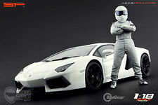 1/18 The Stig Top Gear VERY RARE!!! figures for1:18 CMC Exoto Autoart Ferrari
