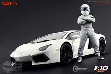 1/18 The Stig Top Gear VERY RARE!!! figures for1:18 CMC Exoto Autoart Ferrari