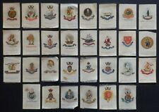 More details for british naval crests issued in 1915 by godfrey phillips 30 x silks