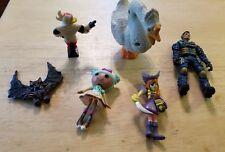 Old toy lot Action figure GI JOE Scooby Doo Gargoyles Darkwing Duck Goose Anime