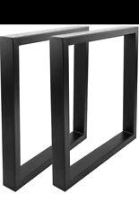 Steel Table Base per tavolo X 2   forma quadrata dal design industriale
