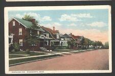 Postcard HIGHLAND AVE., Wadsworth, Ohio R-86921