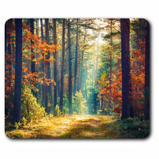 Computer Mouse Mat - Autumn Forest Trees Woods Office Gift #14326