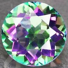 3,90 ct  Mystic Topaze - Brilliant Cut  IF - origin : Madagascar - Splendid !