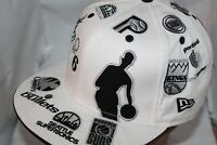 All Teams East/West  NBA 59FIFTY,Hat,Cap **RARE** All Old School NBA Logo's  HWC