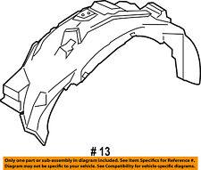 FORD OEM 15-16 F-150-Front Fender Liner Splash Shield Left FL3Z16103C