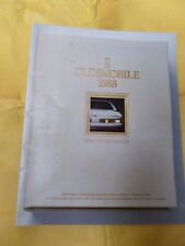 1988 Oldsmobile Full-Line Brochure - The Tenth Decade - 31 pages!