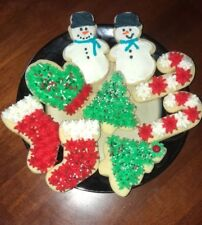 Homemade Frosted Christmas / Holiday Sugar Cookies