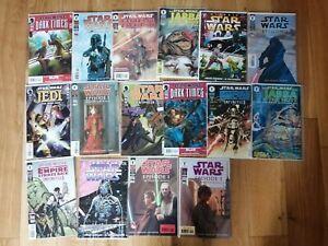 Star Wars Dark Horse bundle Job lot of 16 comics. Classic, Jedi, Boba Fett