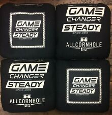 Brand New Game Changer Steady Cornhole Bags Black