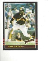 1985 DONRUSS #63 TONY GWYNN BASEBALL CARD