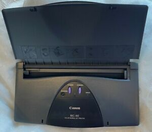 Canon BJC 80 Mobile / Portable Color Bubble Inkjet Printer