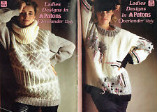JUMPERS & JACKET **12ply QUICK TO KNIT** for WOMEN ~ LOVELY DESIGNS