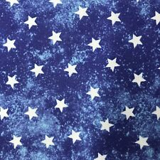 Fabric Patriotic Stars by Jim Shore 100% Cotton Fabric by the yard
