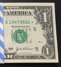 2003 STAR NOTE $1 Dollar Richmond,Crisp, UNC,consecutive