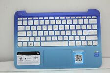 Genuine HP Laptop Palm Rest w/ Touchpad & Keyboard EAY0A005010