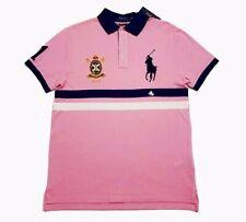 Polo Ralph Lauren Mens Size M Big Pony Crest Embroidered Custom Slim Fit Shirt