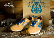 Footpatrol x Asics Gel Saga II Special Box UK8.5 US9.5 EU43.5 Wooden Number 00