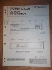 Kenwood Service Manual~1050MD/DM-5090/9090 Minidisc Recorder~Original