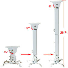 Universal Adjustable LCD DLP Projector Ceiling Mount Bracket Tilting Swivel CZN