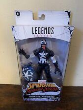 Marvel Legends Spider-Man Maximum Venom Venomized Captain America Exclusive