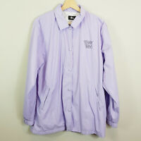 STUSSY | Womens Purple Spray Tribe Jacket  [ Size S or AU 10 / US 6 ]