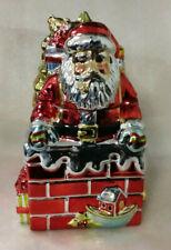 'A Christmas Story' Santa Metallic Cookie Jar-Portmeirion Studio-Susan Winget