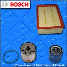 KIT di servizio per PEUGEOT 307 2.0 HDi 8v olio aria carburante FILTRI BOSCH 2000-2001