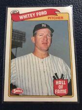 Whitey Ford HOF Yankees  1989 Swell Baseball Greats #50  NM/MT+  Pack Fresh!