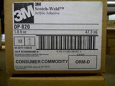 3M Scotch-Weld Acrylic Adhesive, DP-820 Off-White DuoPak, 47 mL, 12 per case