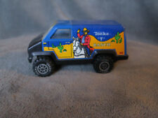 Vintage Tonka T Ranch Blue Van Die Cast