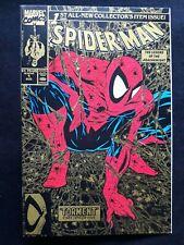 Spider-Man #1 1990 Marvel Comics 2nd Print Gold Variant Todd McFarlane