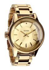 New Nixon Facet Gold-Tone Stainless Steel Quartz Women's Watch A384502