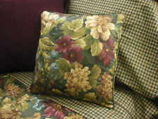 NEW Custom Ralph Lauren Edgefield Floral Throw Pillow 16 inch Invis Zipper Close