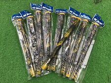 9 x Iomic Sticky Black Army Golf Grip Yellow