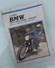 Bmw Motorcycle Manual Book R50/2 R60/2 R69S R69 R60 R50 & Us 1955 to 1969 A Must